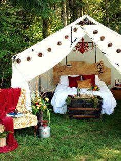 Live Edge, Outdoor Yurt
