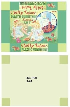 miniatur, dollhous, furnitur box, vintag toy