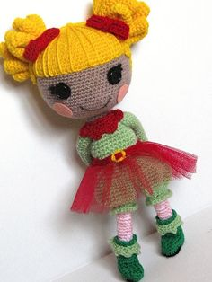 Amigurumi Winter Doll.