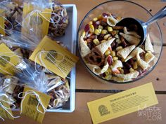 thanksgiving snack mix / dollar download / martawrites.com
