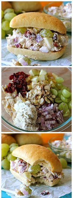 chicken salads, healthy sandwiches, lunch, sandwich recipes