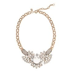 Crystal compilation necklace JCrew
