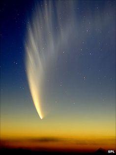 comet...  #comet #sky #star #night
