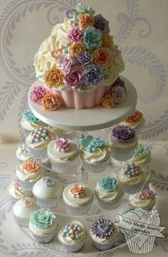 Cupcakes tower