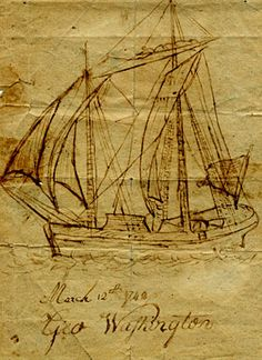 Work by George Washington from his youth.