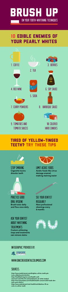 Brush Up on Your Tooth-Whitening Techniques [INFOGRAPHIC]