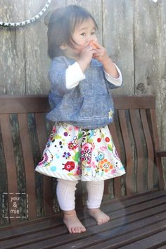 reversible circle skirt. Found it!