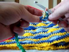 Crochet A Blanket - Starting and Finishing Part 1 Pattern In Info
