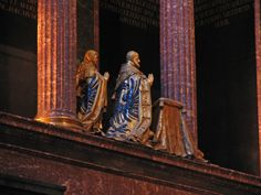 King & Queen - Gilt bronzes by Leoni