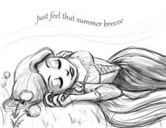 draw, sketch, princess, complet free, tangl, final free, summer breeze, disney, rapunzel