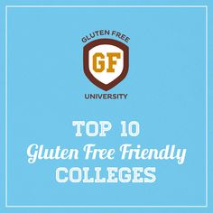 Top 10 Gluten Free Accommodating Colleges 2014 | Udi's® Gluten Free Bread