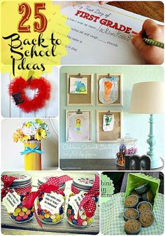 Great Ideas — 25 Back to School Projects!!