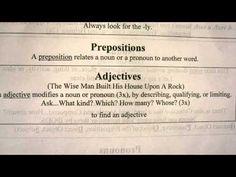 Essential Grammar Adjective Song Classical Conversations