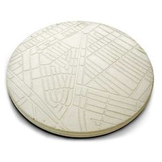 Concrete Map Trivet now featured on Fab.