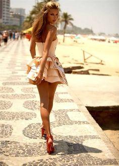 beach outfit?,  Go To www.likegossip.com to get more Gossip News!