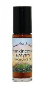 KUUMBA MADE FRANKINCENSE & MYRRH by KUUMBA MADE. Save 17 Off!. $8.29. Spicy, deep and tangy.. This fragrance encourages a feeling of tranquility and peace.. A relaxing, revitalizing, warming and woody fragrance for both men and women.. 1/8 oz Roll On Fragrance.. Kuumba Made's exquisite fragrances contain oils and resins from flowers, plants, roots and trees. They are delightfully exotic and alluring and are adored and cherished.