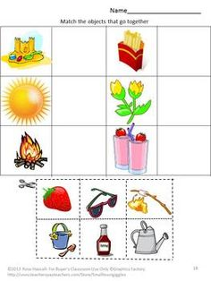 20 Cut and Paste worksheets-All children love activities where they ...