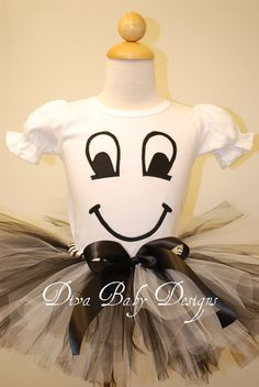 Adorable Ghost girls Halloween Costume by Diva Baby Designs