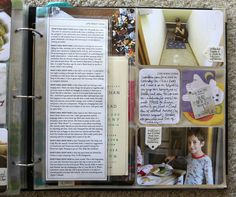 Project life - not all the pages must have the same size