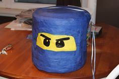 Ninjago Piñata - It would have to be red, of course, for Calvin.
