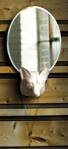 Laughing Place Mirror, Fox