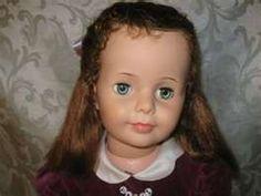 Patti Playpal Doll Ideal Vintage Spit Curl G-35 Auburn Brown Hair Grn ...      www.hydroponicsonline.com