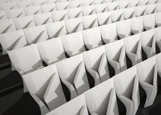 Array auditorium seats by Zaha Hadid for Poltrona Frau Contract