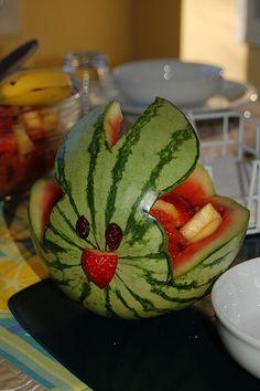 Idea for doing fruit salad for easter