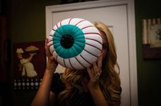Eyeball #Pumpkin by #CSIProject #MichaelsStores