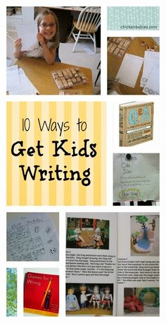 Top 10 Ways to Keep Kids Writing This Summer