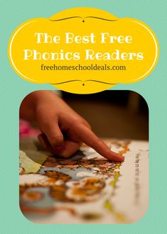 The Best Free Phonics Readers to Supplement any Homeschool Reading Program