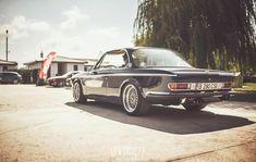 1969 BMW E9 2800CS. (via LowSociety)