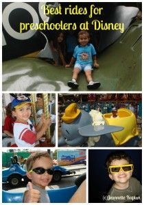 Rides at WDW for children