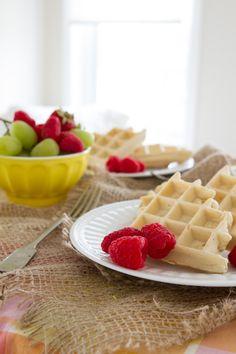 Sugar-free and Gluten-free Waffles