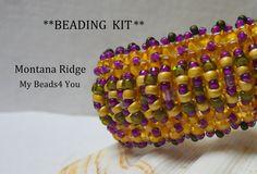 Beading Kit PDF Beading Tutorial Bracelet KITSeed by mybeads4you, $35.00
