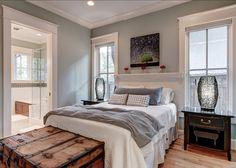interior paint colors, white bedrooms, hous, color idea
