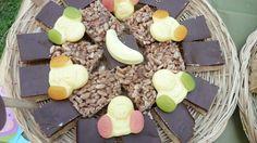 Mars bar slice and peppermint slice