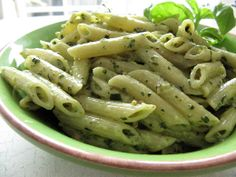 Home Skillet - Cooking Blog: Pistachio Pesto Penne