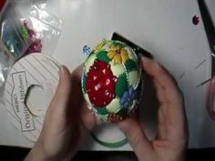 """Flower Garden"" Kimekomi Ornament"