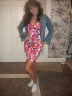 "Kelly Kapowski, ""Saved By the Bell"" costume...san big hair, a great outfit"