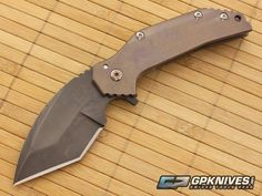 Grindhouse Knives FOK Flipper Tanto Prototype