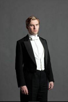 downton abbey white tie
