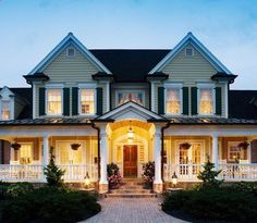 Absolutely love the outside of this house.  One day.  One day.