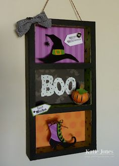 """Happy Halloween cartridge (hat cut at 2.65""""),  pumpkin (2 1/5"""" x 5/8""""), Treats for my Sweet (Best Witches), witch's shoe - happy hauntings cut t 2.65"""