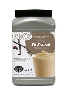 """Love this protein powder from Big Train!"" From Stephanie Widoe . Yay ! Fit Frappe 1 year celebration going on today at Facebook/bigtrain"