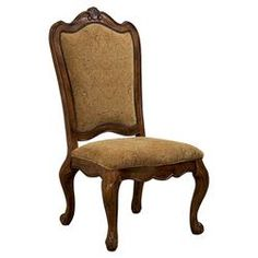 Villa Side Chair in Tan