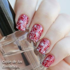 China Glaze - Ruby pumps  Moyou London Tourist collection