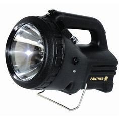 #Nightsearcher Panther Rechargeable Searchlights. 1500 / 350 lumens. 1 mile beam. High / low light beams. 50W halogen main bulb and 20W halogen secondary bulb. Operates for 1.5 hours on high beam and 4 hours on low beam. Battery charging indicator (red to green) Adjustable stand. Supplied with: Mains charger and shoulder strap. Price: £107.22 #Torches, #Flashlight, #Torch, #Searchlight, #PowerfullTorches - http://www.rapidtoolsdirect.co.uk/category/torches-lamps