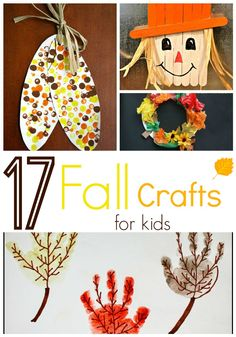 17 Fall Crafts For K