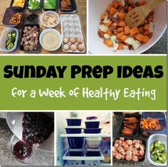 Sunday Food Prep Ideas for a Week of Healthy Eating